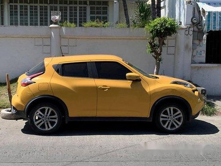 Yellow Nissan Juke 2017 for sale in Las Pinas