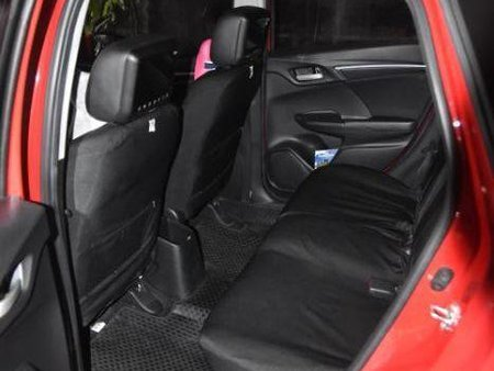 Red Honda Jazz 2015 for sale in Quezon City