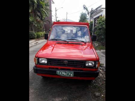 Red Toyota tamaraw 1993 Van at  Manual   for sale in Taytay