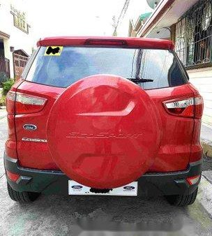 Red Ford Ecosport 2016 for sale in Automatic