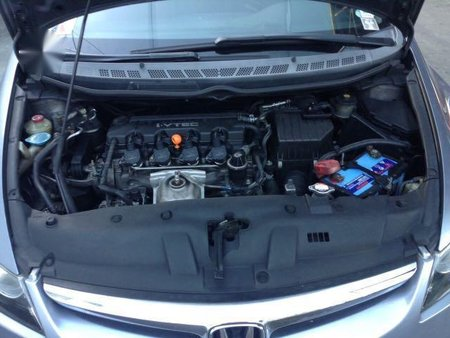 Silver Honda Civic 2007 for sale in Automatic