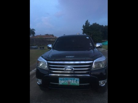 Sell Black 2010 Ford Everest SUV / MPV at  Automatic  in  at 80000 in Batangas City