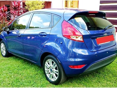 Blue Ford Fiesta 2014 for sale in Automatic