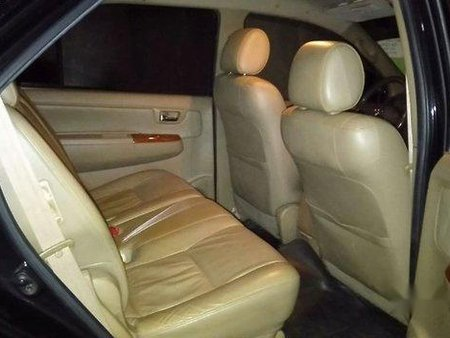 Black Toyota Fortuner 2010 Automatic for sale
