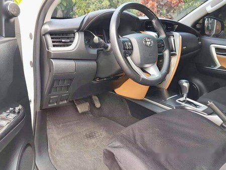 White Toyota Fortuner 2017 for sale in Automatic