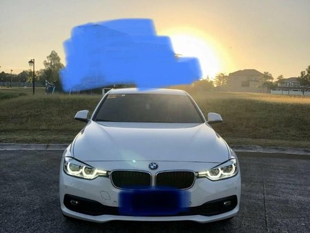 Pearl White Bmw 318I 2017 for sale in Valenzuela