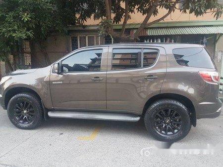 Selling Brown Chevrolet Trailblazer 2014 in Quezon City