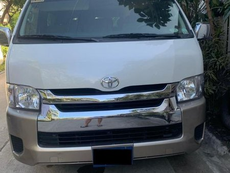 White Toyota Hiace 2017 for sale in Makati City