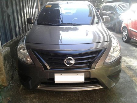 Silver Nissan Almera 2017 for sale in Quezon