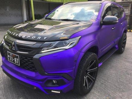 Purple Mitsubishi Montero 2016 for sale in Manila