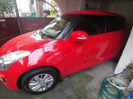 Sell Red 2017 Suzuki Swift Hatchback at 27000 km in Manila