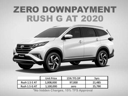 Brand New 2020 Toyota Rush ZERO DOWNPAYMENT