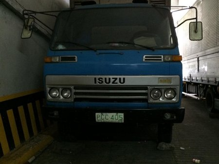 1983 ISUZU ELF ALUMINUM CLOSED VAN TRUCK
