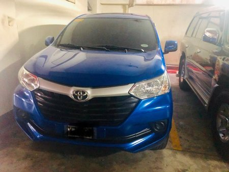 Selling Blue Toyota Avanza 2016 in Alicia