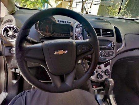 Grey Chevrolet Sonic 2014 for sale in Manila