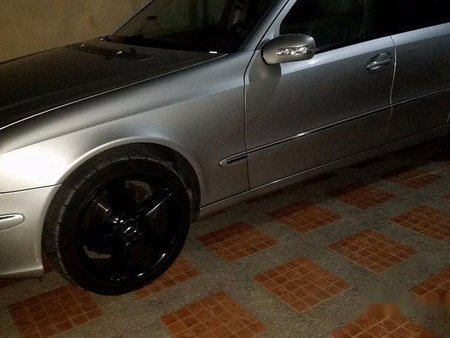 Sell Silver 2003 Mercedes-Benz E-Class in Manila