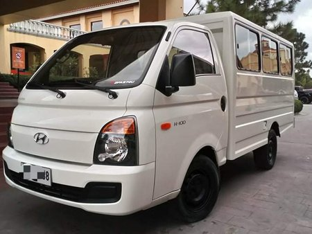 Almost New Low Mileage Factory Plastic Intact 2015 Hyundai H100 MT