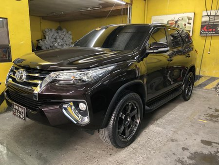 Toyota Fortuner 2017 2.4 G Automatic Diesel