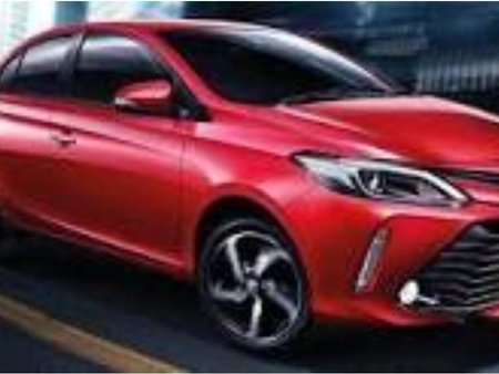 Red Toyota Vios 2015 for sale in Automatic