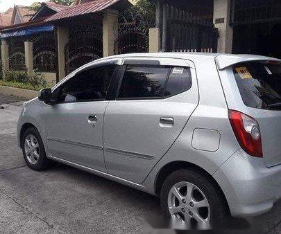 Sell Silver 2017 Toyota Wigo in Manila