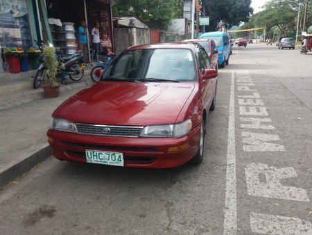Red Toyota Corolla 1996 for sale
