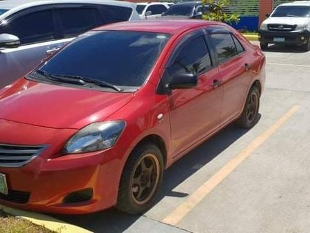Selling Red Toyota Vios 2012 in Tacloban