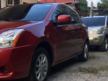 Red Nissan Sentra 200 2012 Sedan at 33000 for sale in Manila