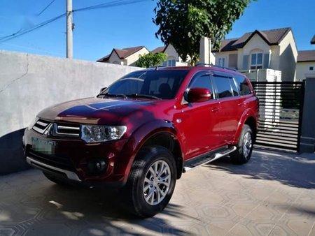 Selling Red Mitsubishi Montero 2014 in Manila