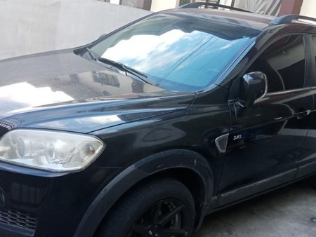 Sell Black 2008 Chevrolet Captiva in Valenzuela