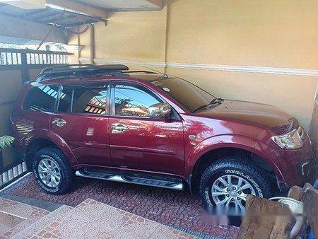 Sell Red 2014 Mitsubishi Montero sport in Manila