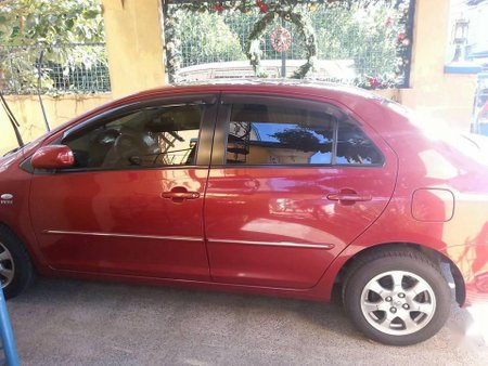 Selling Red Toyota Vios 2010 in Valenzuela