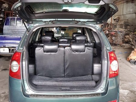 Green Chevrolet Captiva 2008 for sale in Quezon City