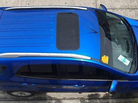 Blue Ford Ecosport 2017 for sale in Manila