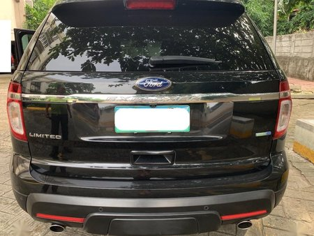 Black Ford Explorer 2014 for sale in Automatic