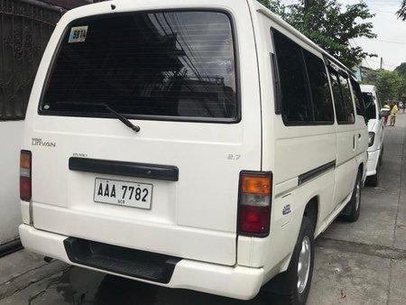 Selling White Nissan Urvan 2014 in Cainta