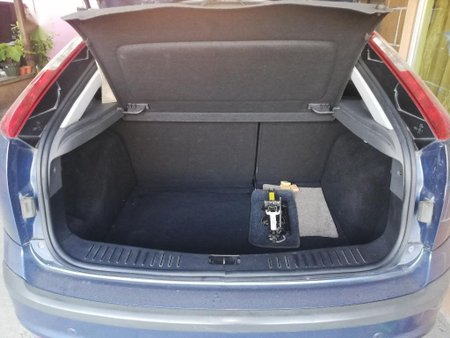Blue Ford Focus 2008 for sale in Lipa City