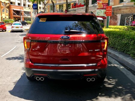 Sell Red 2019 Ford Explorer in Makati