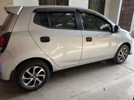 Selling Grey Toyota Wigo 2017 in Taguig