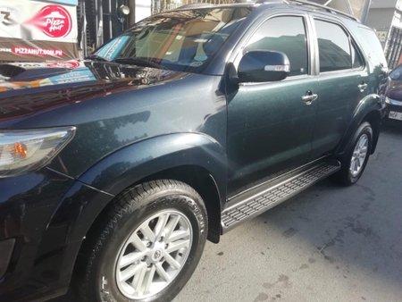 Selling Black Toyota Fortuner 2013 in Kalibo