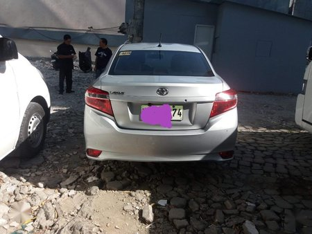 Silver Toyota Vios 2016 for sale in Makati
