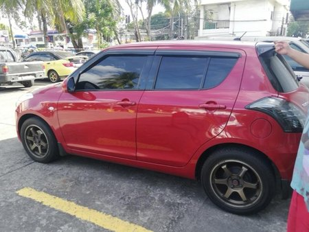 Red Suzuki Swift 2012 for sale in Automatic
