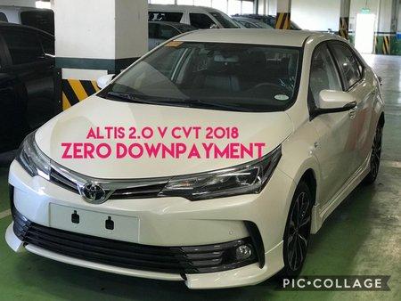 BRAND NEW TOYOTA ALTIS 2.0 V CVT 2018 year Model ZERO DP