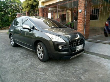Grey Peugeot 3008 2014 for sale in Calamba