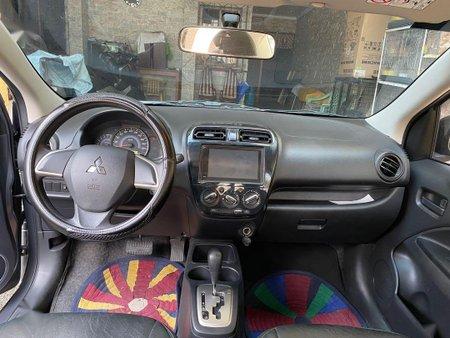 Sell Grey 2016 Mitsubishi Mirage in Quezon City