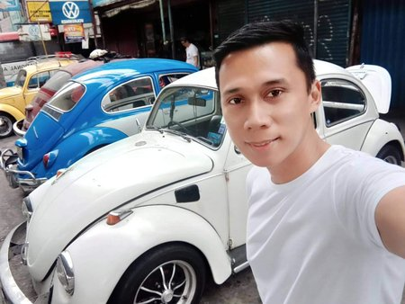 1968 Volkswagen Beetle lowered in Rizal