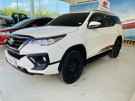 Pearl White Toyota Fortuner 2020