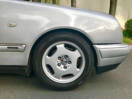 Silver Mercedes-Benz E-Class 1998 for sale in Manila