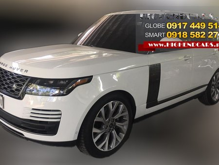 2019 LAND ROVER RANGE ROVER SUPERCHARGED PRE OWNED