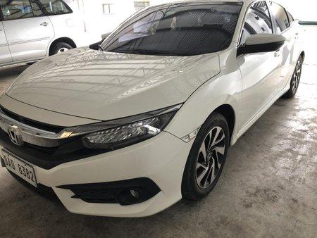 White Honda Civic 2017 for sale in Batangas