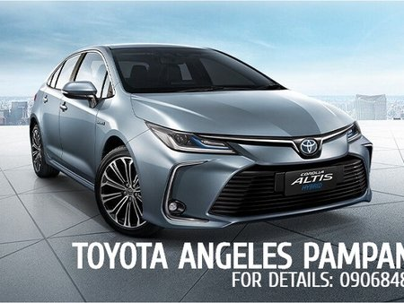 159K ALL IN PROMO WITH ADDITIONAL SURPRISES - BRAND NEW TOYOTA ALTIS 2020 1.6 G AT